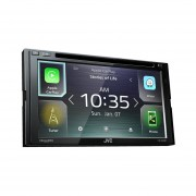 Autoestereo Con Pantalla JVC KW-V840BT CD/DVD Waze Apple Carplay