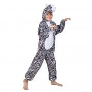 Merkloos Dieren kostuum zebra voor kinderen