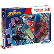 Puzzle Maxi Super Color Spider-Man, 24 piese