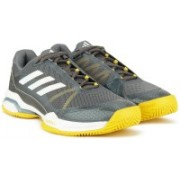 ADIDAS BARRICADE CLUB Tennis Shoes For Men(Grey)