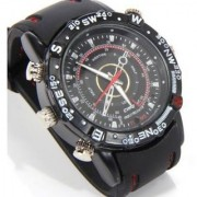 4 GB Waterproof Spy Sports Camera Wrist Watch Audio Video Recorder