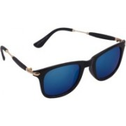 IIK Collection Clubmaster Sunglasses(Blue)