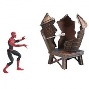 Spider-Man Spider-Man 2: The Movie Twist N' Shoot Spider-Man Action Figure with Street Fighting and Web Slinging Actions