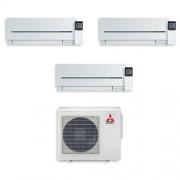 Mitsubishi Condizionatore Trial Split Inverter 7000+7000+12000 7+7+12 Btu Sf A++ Mxz-3e54va