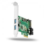 Adaptor Axagon PCI Express PCEU-232V, 2x USB3.0