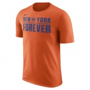 New York Knicks Nike Dry NBA-Herren-T-Shirt - Orange