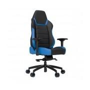 Vertagear Silla Gamer PL6000, hasta 200Kg, Negro/Azul