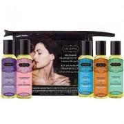 Kama Sutra Massage Kit mit 5 Flaschen