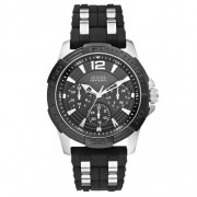 Часовник GUESS - Oasis W0366G1 BLACK/SILVER TONE