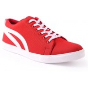 Shoe Mate Red Casual Shoes Casuals For Men(Red)