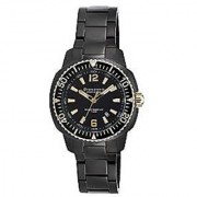 Giordano Quartz Black Dial Mens Watch-P157-44