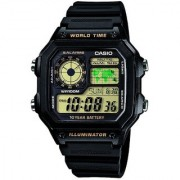 Casio Youth Digital Black Dial Men's Watch - AE-1200WH-1BVDF (D098)