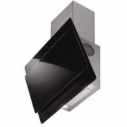 Faber HOOD MIRROR PLUS BK/WH TC LTW (with free gift cutlery set from Giftipedia) Wall Mounted Chimney(Black 1000 CMH)