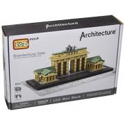 LOZ Diamond Block World Famous Architecture - Brandenburg Gate #1011