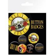 jelvények Guns n ' Roses - Lyrics And Logos - BP0458