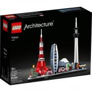 set de construcción lego architecture tokio 21051