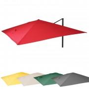 Bezug für Luxus-Ampelschirm HWC-A96, Sonnenschirmbezug Ersatzbezug, 3x4m (Ø5m) Polyester 3,5kg ~ Variantenangebot