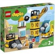 Конструктор Лего Дупло - Разрушаване с разбиваща топка, LEGO DUPLO Town, 10932