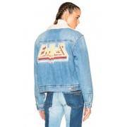 Isabel Marant Etoile Camden Denim Jacket in Blue. - size 34 (also in 36,38,42,44)