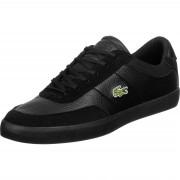 Lacoste Court Master 120 Herren Schuhe schwarz Gr. 40,0