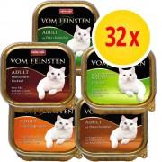 Animonda Vom Feinsten Fai scorta! Animonda vom Feinsten MIX 32 x 100 g - Mix di carne & pesce (4 varianti)