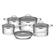 Gourmet Miracle 9 darabos edénykészlet rozsdamentes acél / greblon
