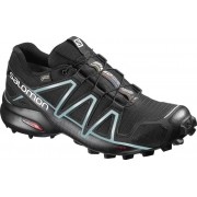 Salomon Speedcross 4 GTX - scarpe trail running - donna - Black/Blue