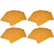Ajabh High Quality Pack of 50 Yellow Bridal Single saree travelling bag case Gift Organizer bag vanity pouch Keep saree/Suit/Travelling Pouch(Yellow)