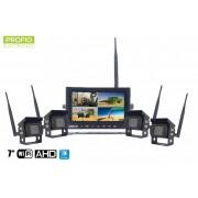 "Cuvacie kamery bezdratove 7"" HD monitor + 4x HD kamera"