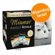 Miamor Pakiet próbny Miamor Ragout Royale, 12 x 100 g - Kitten, Drób i wołowina (w galarecie)