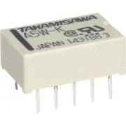 Releu subminiatura plat Takamisawa A12WK12V 12V/DC