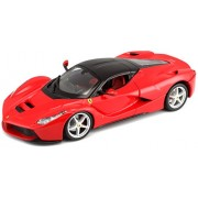 Bburago 1:24 Race and Play La Ferrari, Multi Color