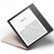Електронен четец Kindle Oasis e-Reader, водоустойчив, 7 инчов дисплей, 300 ppi, Audible, 32 GB, Златист