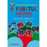 Alfabetul colorat e usor de invatat. Auxiliar pentru clasa pregatitoare si clasa I