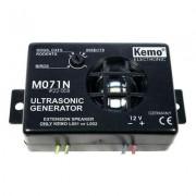 Kemo ultrahangos állítható kártevő-, rovar-, kutya-, macska- és nyestriasztó modul, 12V, max.: 40m,