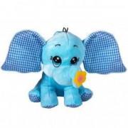 Plus elefant albastru 20 cm