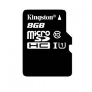 Kingston Micro SD 8G minneskort Class 10 - 8GB