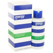 Benetton Energy Eau De Toilette Spray 3.4 oz / 100 mL Fragrances 492608