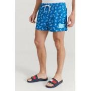 Calvin Klein Underwear Badshorts Short Drawstring-Print Blå