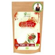 Guarana pulbere raw bio (125g), Obio