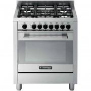 Tecnogas Ptv762xs Cucina 70x60 5 Fuochi A Gas Forno A Gas Ventilato Con Grill El