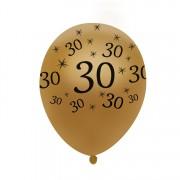 Narodeninové balóniky - 10 kusov 30