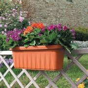 Jardiniera pt. balcon sau gard cu rezervor