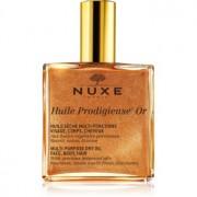Nuxe Huile Prodigieuse OR aceite seco multiusos con purpurina para cara, cuerpo y cabello 100 ml