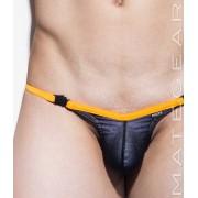 Mategear Kim Bae VII Tapered Sides V Front Translucent Overlay Maximizer Ultra Bikini Swimwear Black 1380701