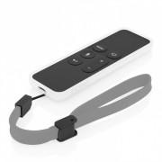 Incipio NGP - удароустойчив силиконов калъф за Apple TV Siri Remote (бял)