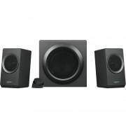 Logitech Z337 2.1channels 40W Black speaker set