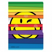 CAIET A5 MY.BOOK FLEX SMILEY JALOUSIE, 2X40 FILE, HERLITZ - 9476060
