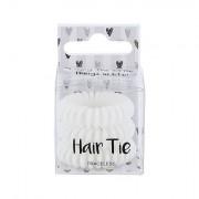 2K Hair Tie gumice za kosu 3 kom nijansa White