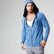Myprotein Performance Shirt met rits - XL - Blauw